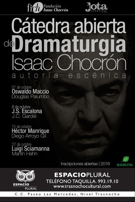 volante catedra dramaturgia isaac chocron