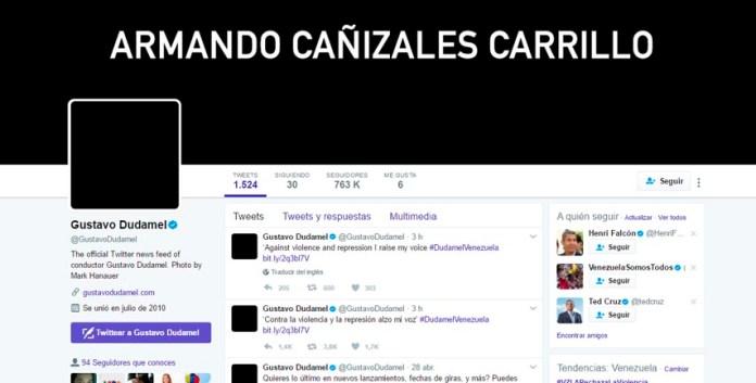 Gustavo Dudamel Musica Armando Cañizales Violencia