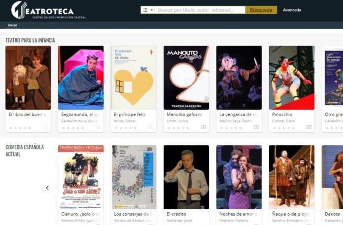 Teatroteca coronavirus obras de teatro gratis
