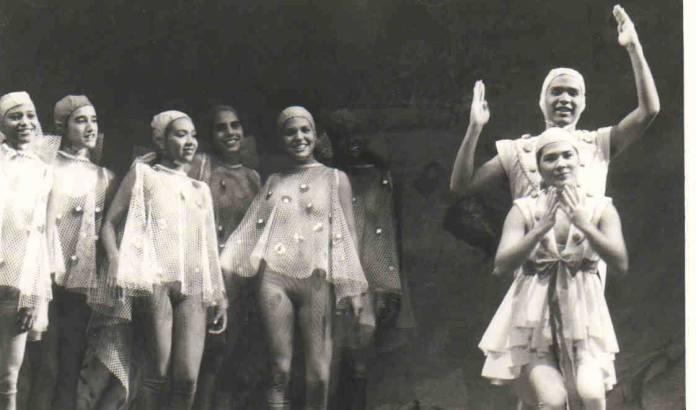 Imagen del grupo El Chichón en una representación teatral