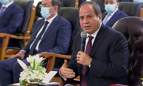 السيسي بعد انهيار محادثات سد النهضة: كل الخيارات ممكنة إذا تأثرت المياه في مصر