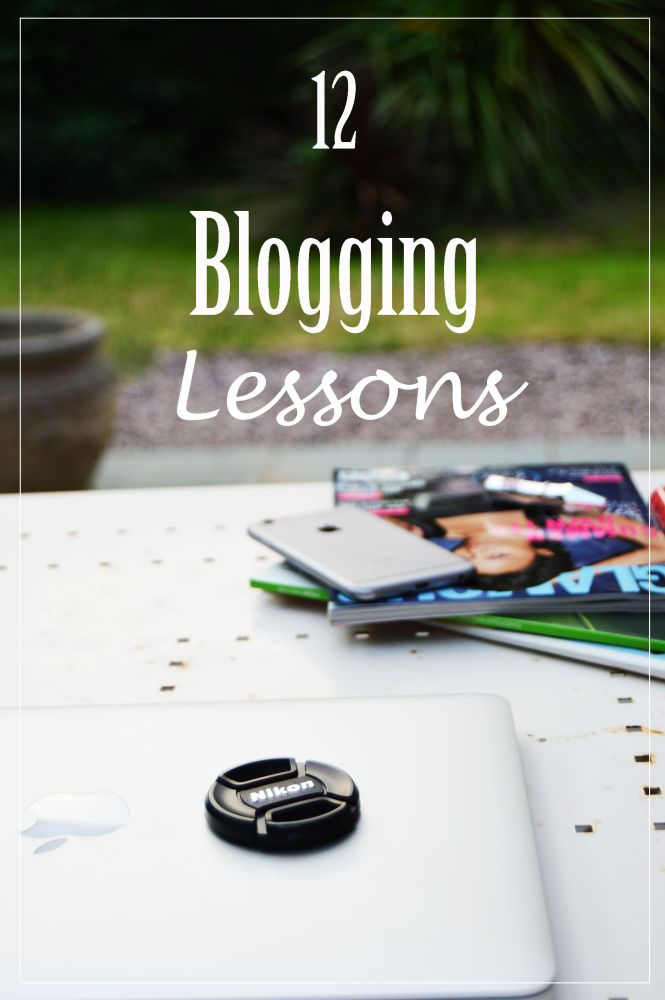 12 blogging lessons which will be useful for every blogger. Blogging lessons and blogging tips will help you to improve your blog.