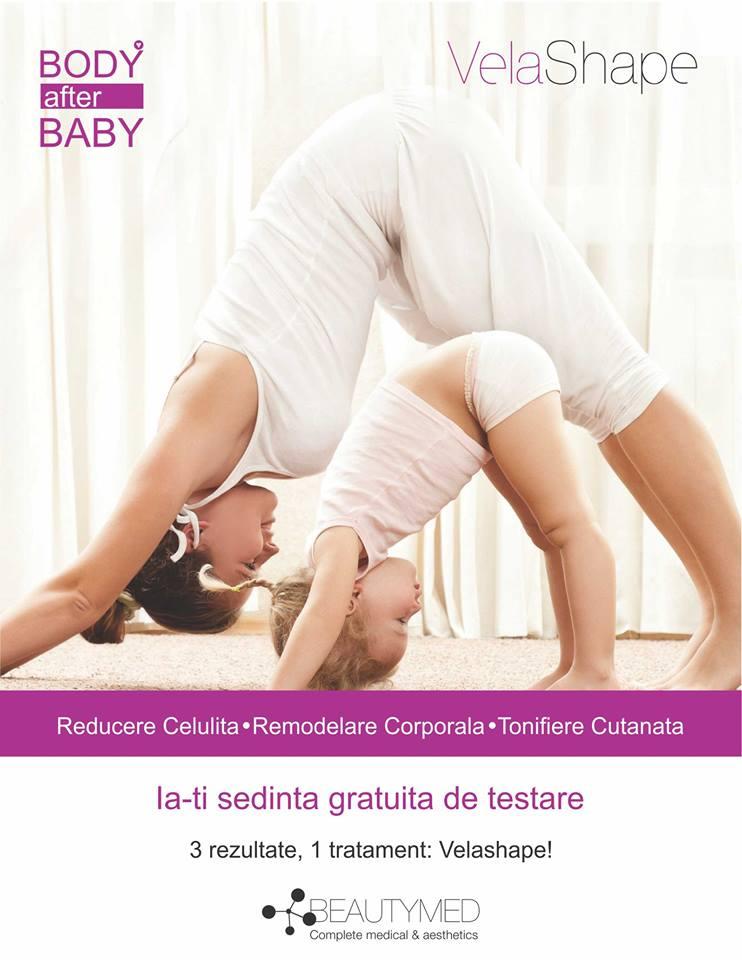 Cel mai bun tratament ca să îţi remodelezi rapid corpul după naştere
