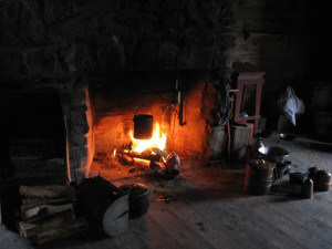 Early American Hearth (Photo, Thomas Deitner)