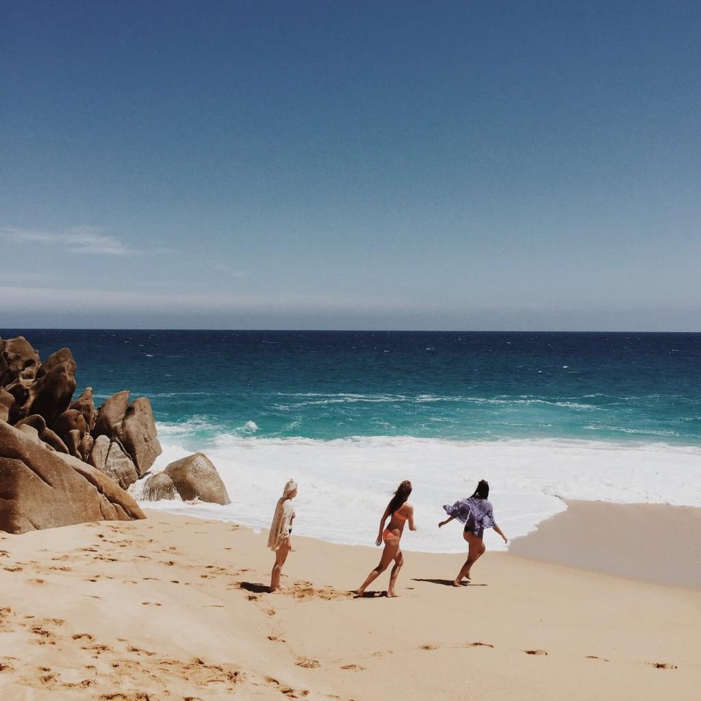 Beach at Grand Solmar Land's End Resort in Cabo San Lucas, Mexico - elanaloo.com
