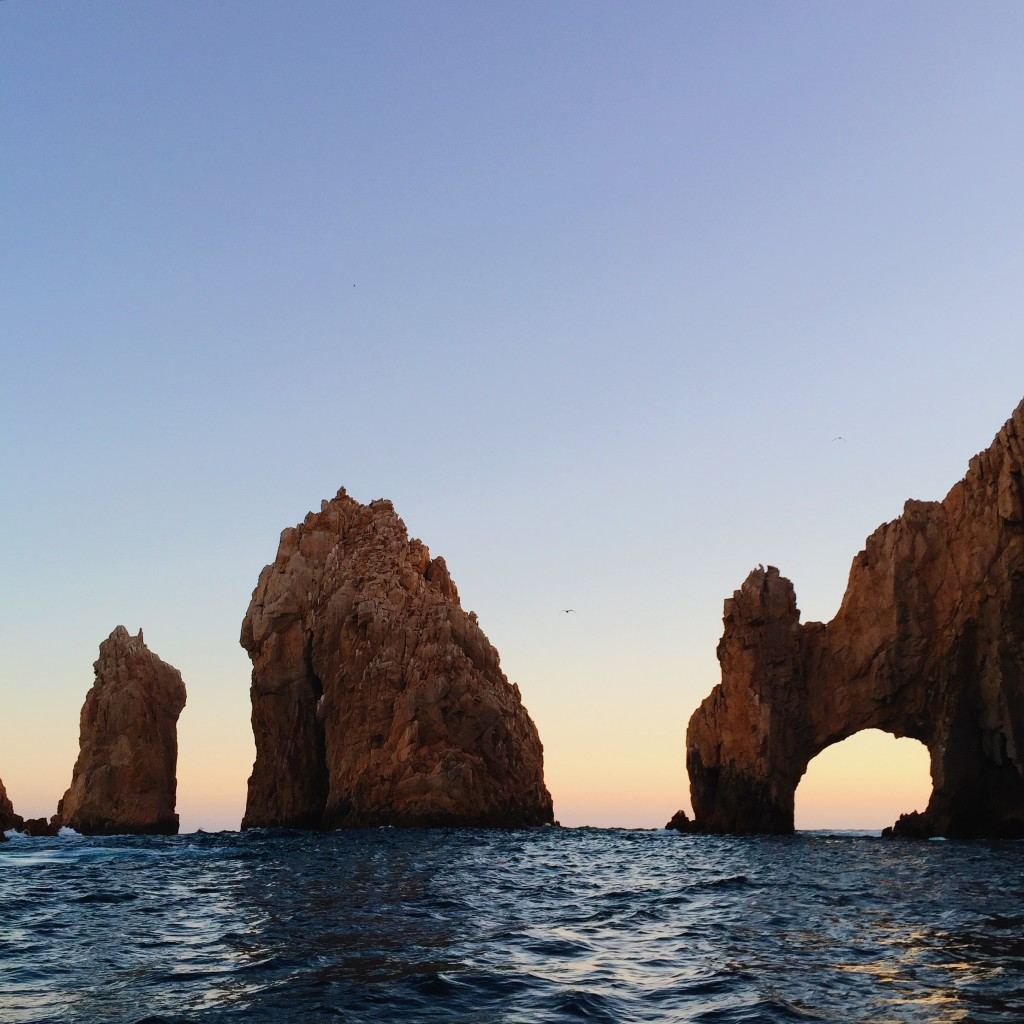 Cabo Arch at Sunset in Cabo San Lucas, Mexico - elanaloo.com