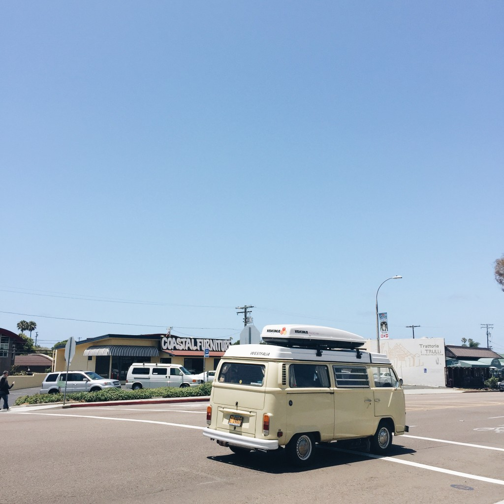 Vintage VW Bus, VW Bus, Encinitas California - Elanaloo.com