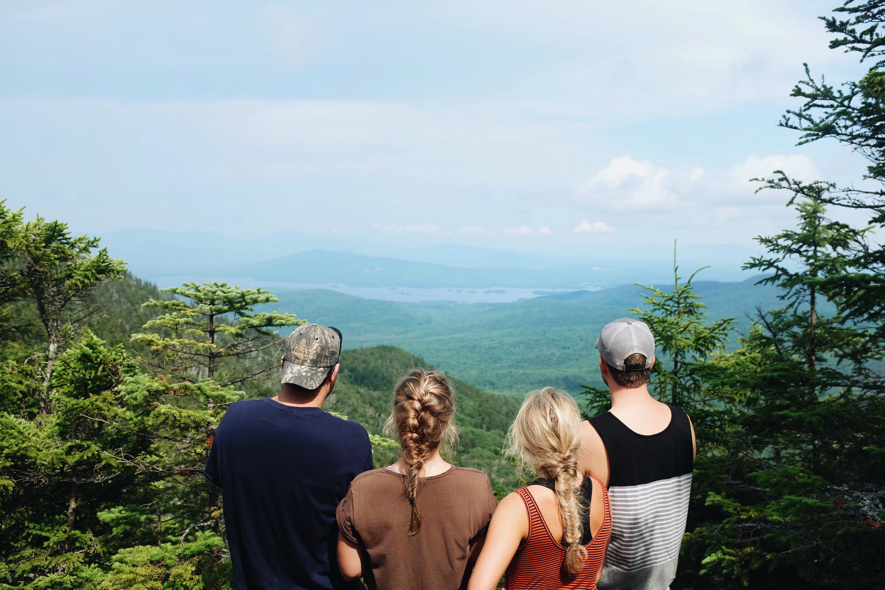 Hiking Little Moose Mountain in Maine - elanaloo.com