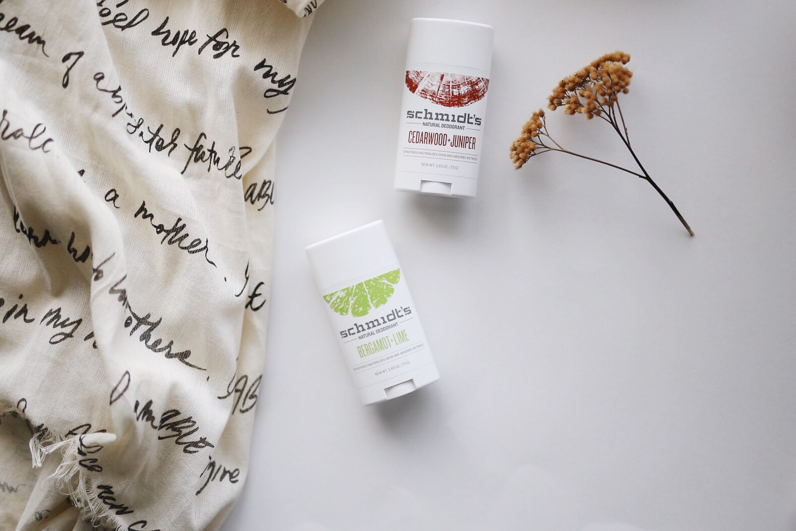 Natural Deodorant Alternative - Schmidt's Deodorant | elanaloo.com