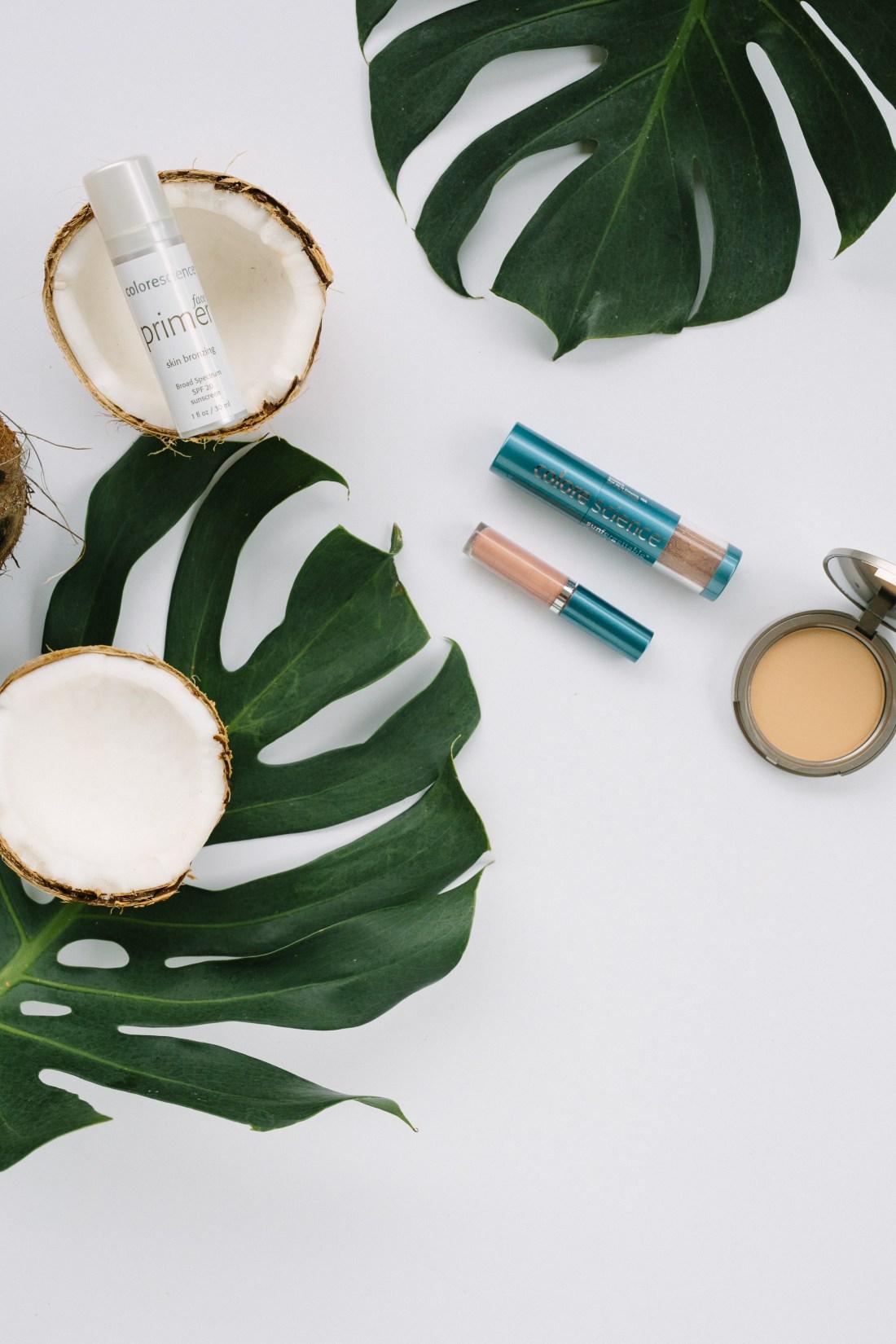 Organic makeup for