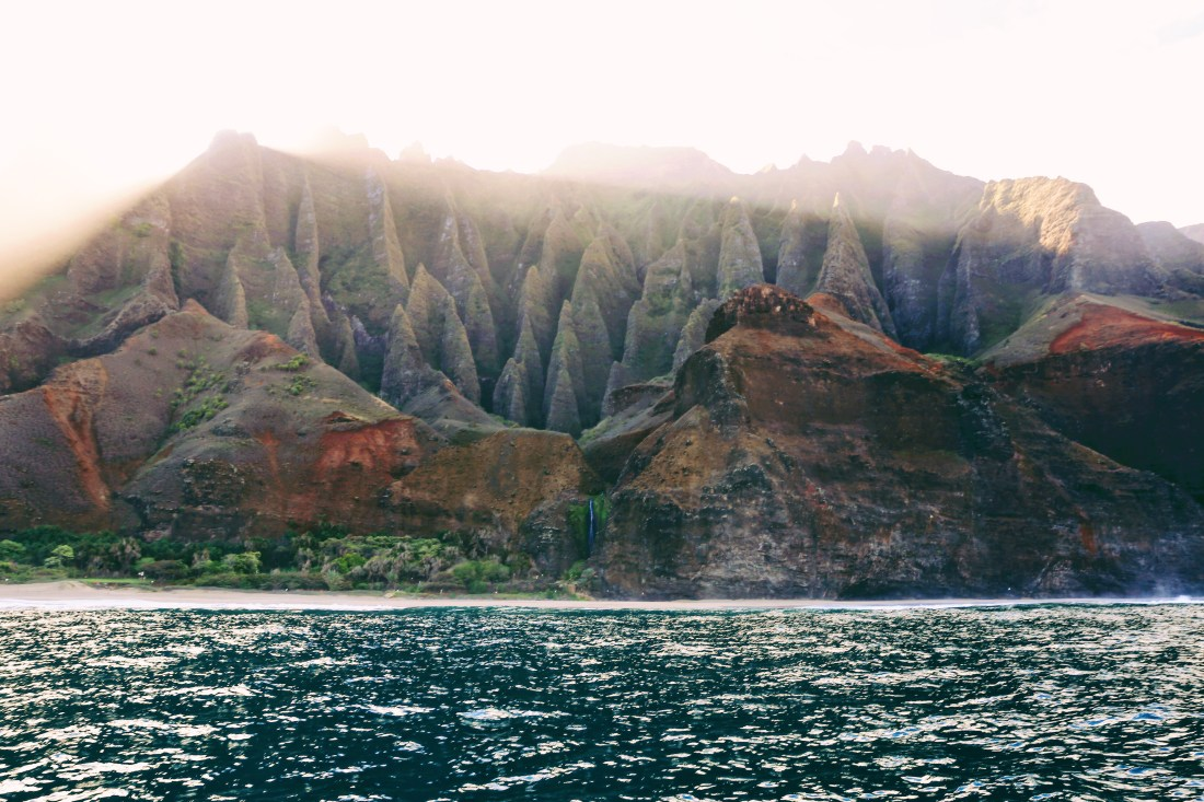 Na Pali Coast Boat Tour | Cathedrals of the Napali Coast | Incredible Kauai Experience | Must See Places in Kauai | Go Blue Adventure | Blue Ocean Adventure Tours | Kauai Water Excursions | Best Kauai Excursions | Travel Guide to Kauai, Hawaii | Travel Tips for Kauai | Packing List for Kauai | Helpful Tips for Traveling to Kauai | Kauai Travel Guide | Hawaii Travel Guide | Why You Should Visit Hawaii | Napali Coast Boat Excursion | Activities To Do in Kauai | Best Vacation Places in the World via @elanaloo + elanaloo.com