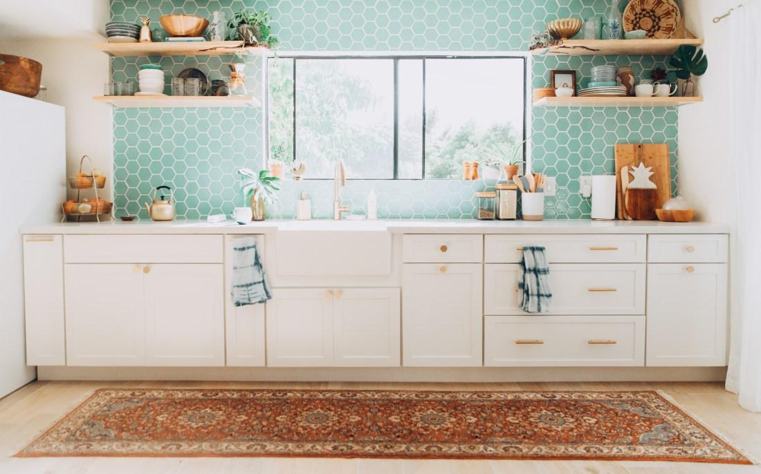 Our Kitchen Renovation Reveal | Tropical, Modern + Bohemian