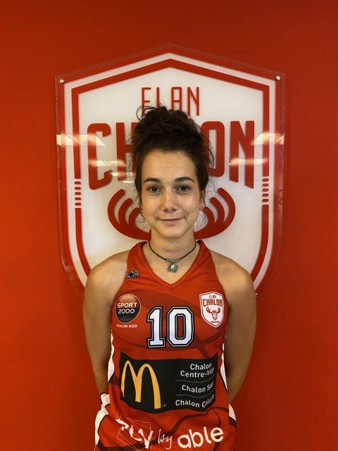 U18F1 Laura Chassagneux