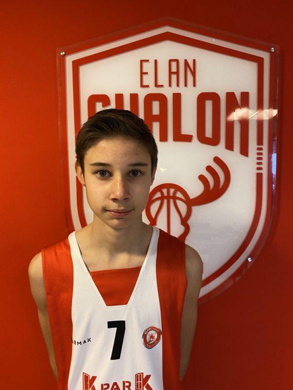 U13M3 Evan BAUDIER