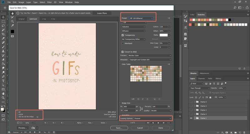 Create Gif In Photoshop