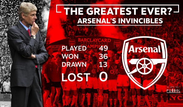 Arsene Wenger's Invincibles :The Greatest story in the ...