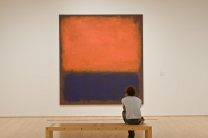 El arte abstracto necesita un tiempo de contemplación. Flickr: lollyknit