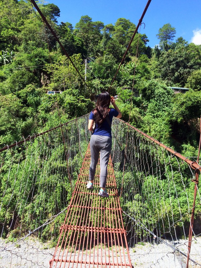 ambuklao hanging bridge