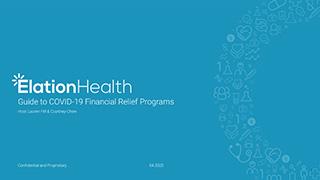 Webinar: Financial Relief Programs