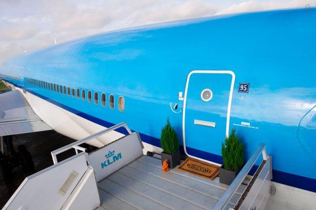 Airbnb y KLM