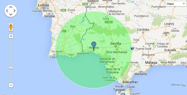 150 de radio sobre Huelva