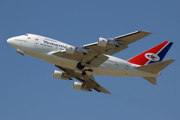 747SP de Yemenia. parfaits