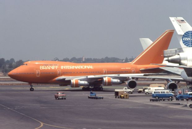 747SP de Braniff en LAX (1981) clipperarctic