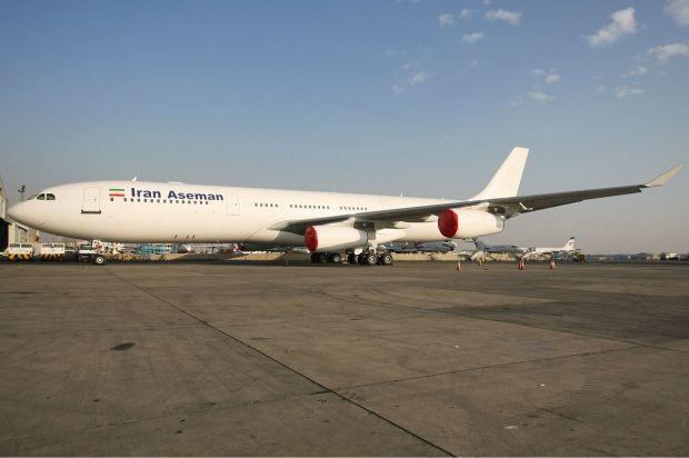 Más de 20 años a la lomera del primer A340 comercial. Ahora volando en Irán. Shahram Sharifi
