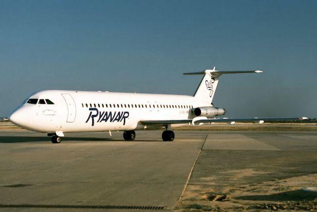 BAC 1-11 de Ryanair en Faro. Pedro Aragão