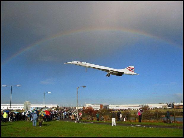 el ÚLTIMO vuelo de un Concorde a Bristol (Ben Salter)