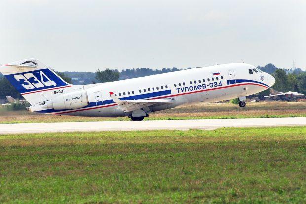 El Tu-334 en el MAKS (Rulexip CC)