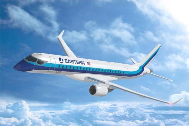 MRJ90 para Eastern Airlines