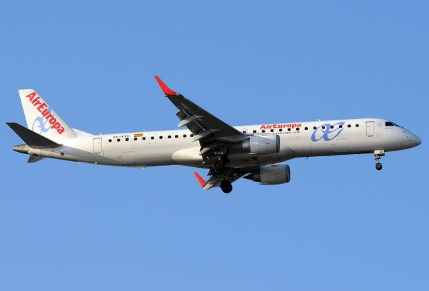 ERJ-195 de Air Europa (Javier Bravo Muñoz)