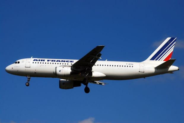 El F-GFKA de AF, un A320-100 original hoy ya desguazado (Laurent ERRERA)