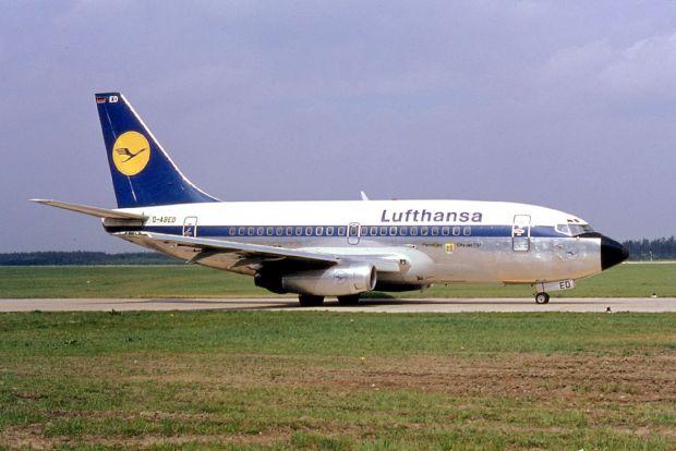 Uno de los primeros 737-100 entregados a LH en 1968 (Ralf Manteufel)