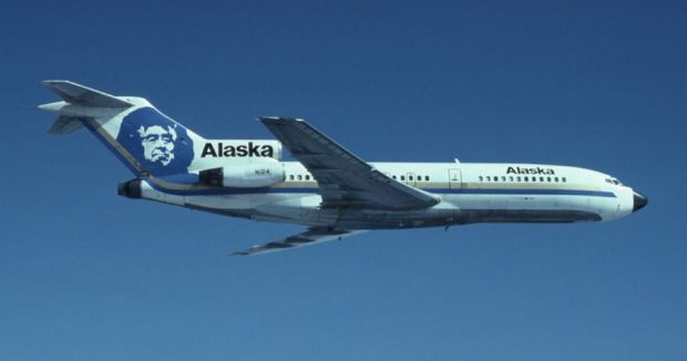 Precioso 727 con el Esquimal en la deriva (Alaska)
