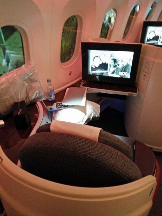 """Se acabó usar el término """"Ventanilla"""" en el 787: hagan paso al término """"VENTANA"""""""