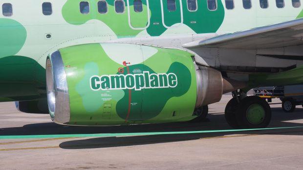 camoplane engine cowl Kulula