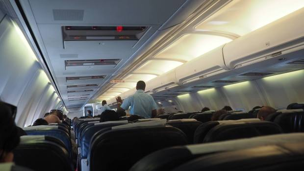 interior kulula 737-400 camoplane