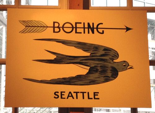 boeing first logo