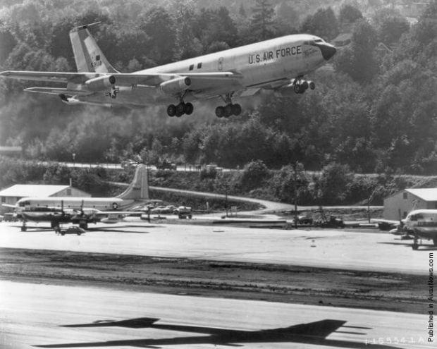El City of Renton, el primer KC-135 de la historia (Boeing)