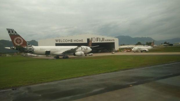 Fiji Airwas A330 Hangar
