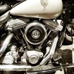 Leilão de Harley Davidsons do Exército