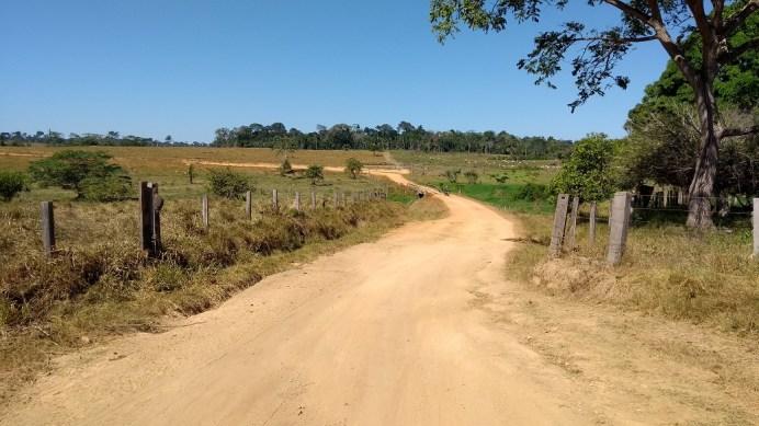 Passando por fazendas