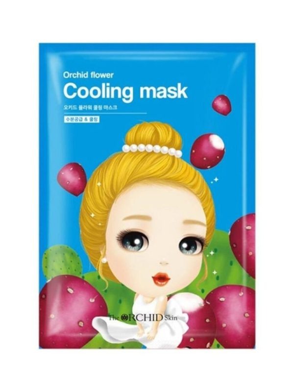 the orchid skin cooling mask