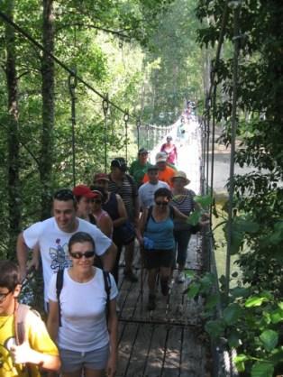 Puente colgante Marcha Popular 1