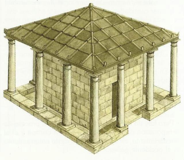 probable tumba del Apostol