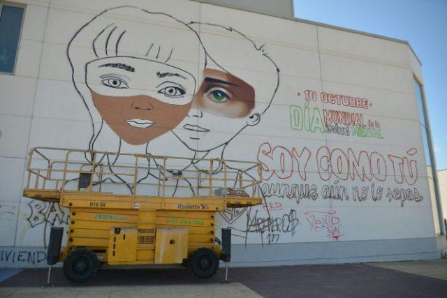 Asier vera grafiti salud mental