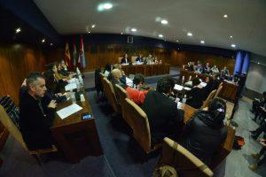 Imagen del Pleno extraordinario de este jueves. / QUINITO