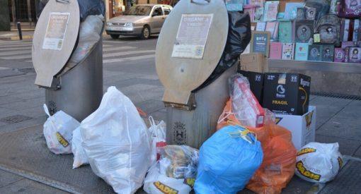 huelga de basura FCC